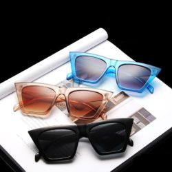 ASAPOS FASHION SQUARE SUNGLASSES