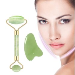 REAL JADE FACIAL MASSAGE ROLLER