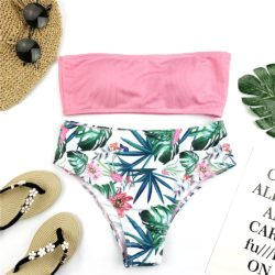 SEXY FLORAL PRINT SWIMSUIT
